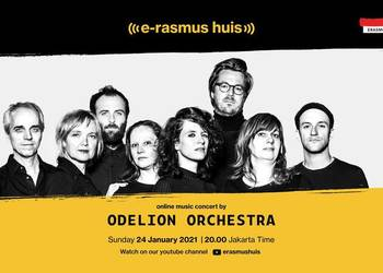 Erasmus Huis Hosts an Online Orchestra to Celebrate 50th Anniversary