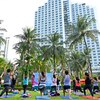 Jakarta's Yoga Community Celebrates Global Wellness Day