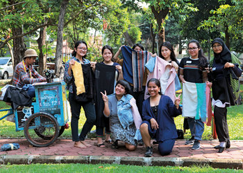 Setali Indonesia: Fun with Upcycled Fashion