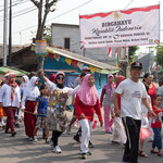 National Spirit during Indonesian Independence Day